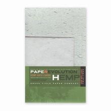 PaperEvolution® Note Set- Hemp Thread, Green