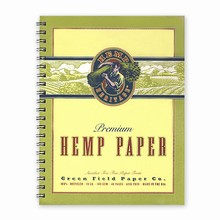 Hemp Heritage® Sketch and Drawing Book, Large
